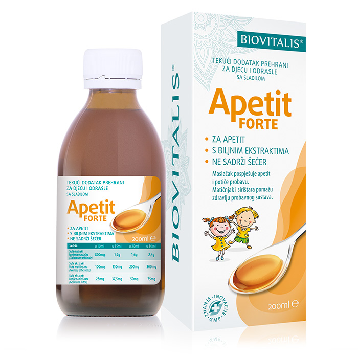 Apetit Forte syrup 200ml