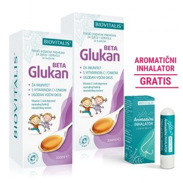Beta Glukan DUO + Aromaticni inhalator