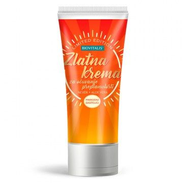 Golden cream for tan preservation 100ml